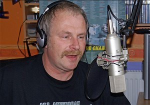 "DJ Eric van Willegen, ""Uncle Eric"" hosts The Giant Jukebox on the Mighty KBC."