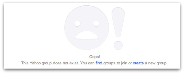 This is the message you will find if you attempt to visit either Tecsun Yahoo group.