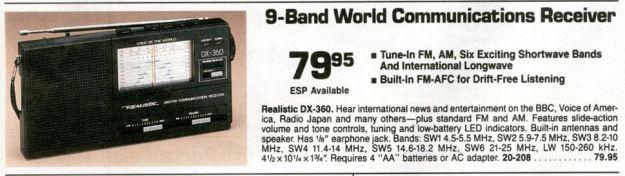 RadioShack-DX360