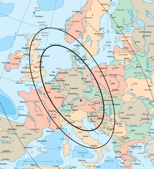 Channel 292 propagation map (Source: Southgate ARC)