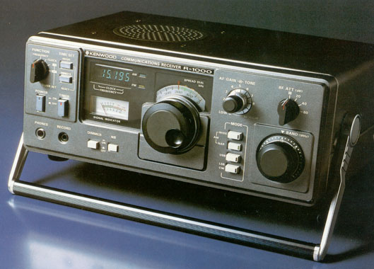 Kenwood R-1000 (Source: Universal Radio)