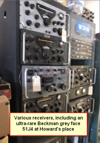 Rack mounted equipment