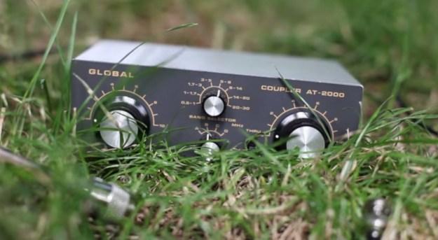 Global AT-2000 antenna coupler and preselector
