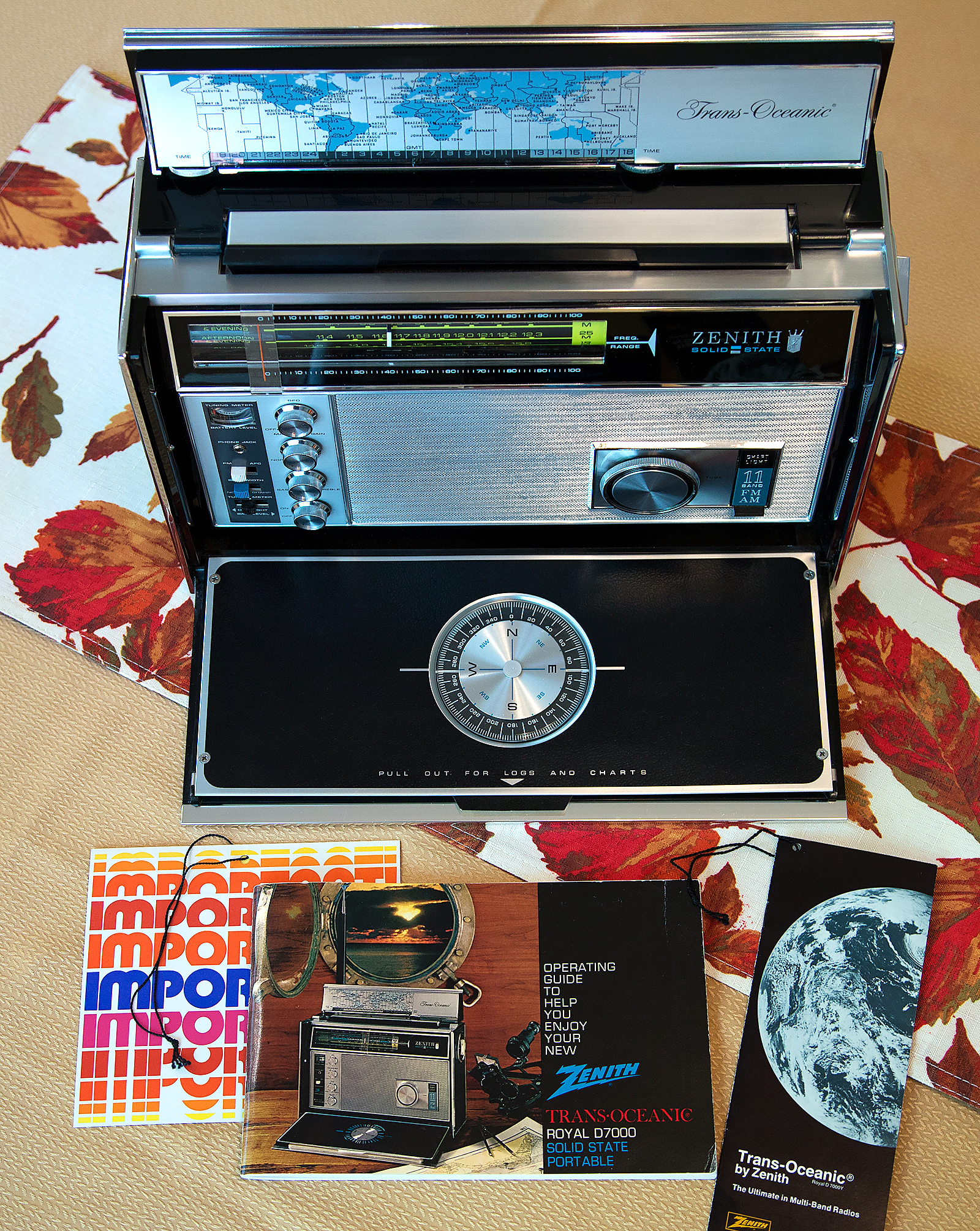 Ebay Find The Zenith Trans Oceanic Royal D7000y With