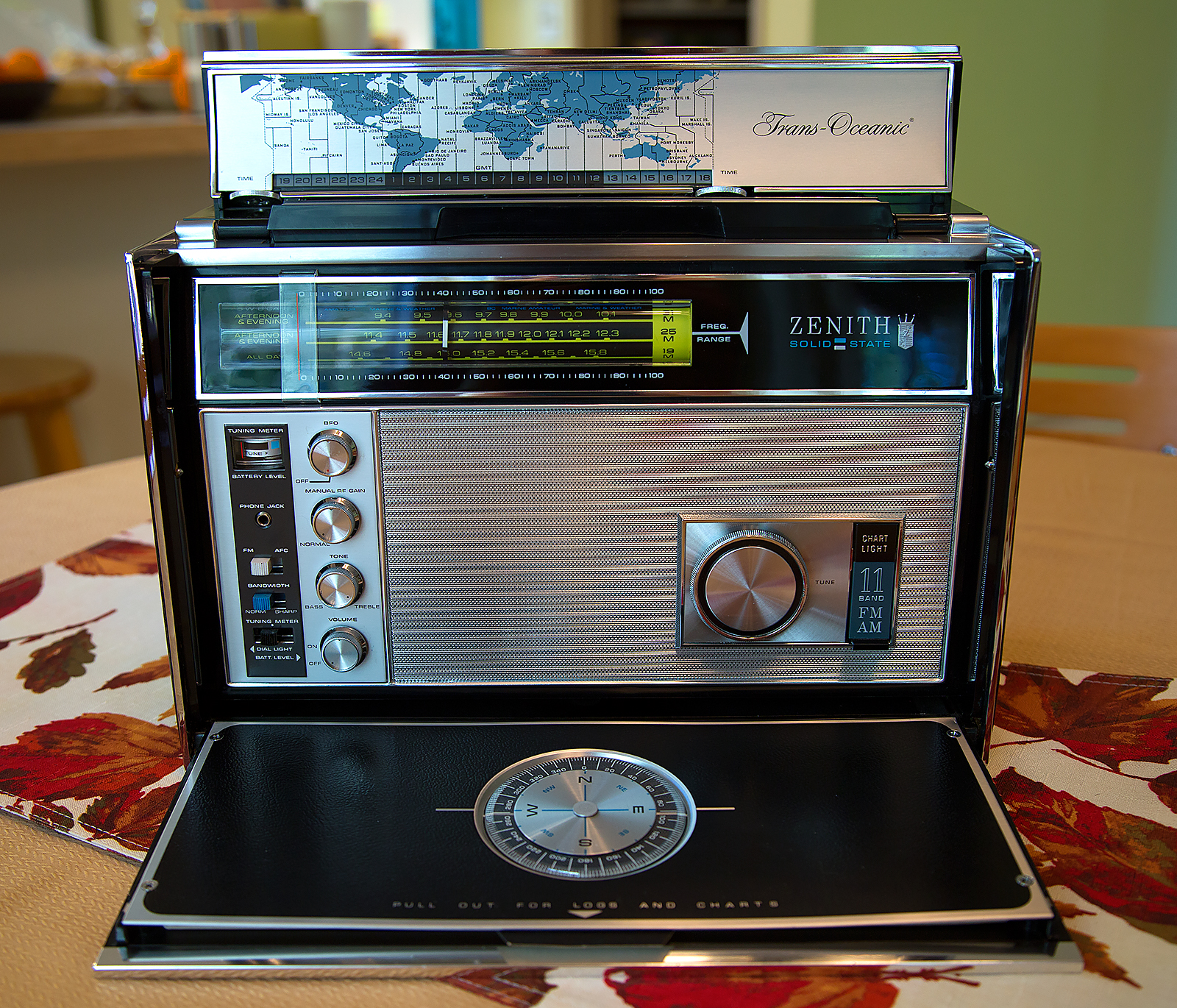 eBay Find: the Zenith Trans-Oceanic Royal D7000Y, with