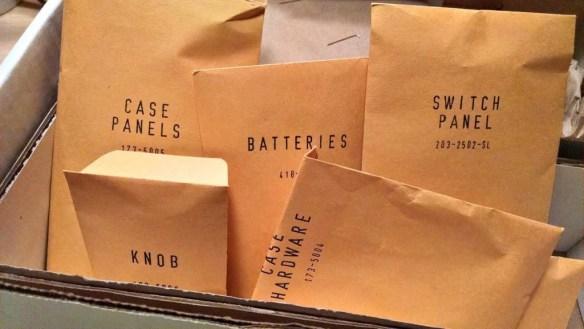 Heathkit Explorer Jr. Retro envelope packaging
