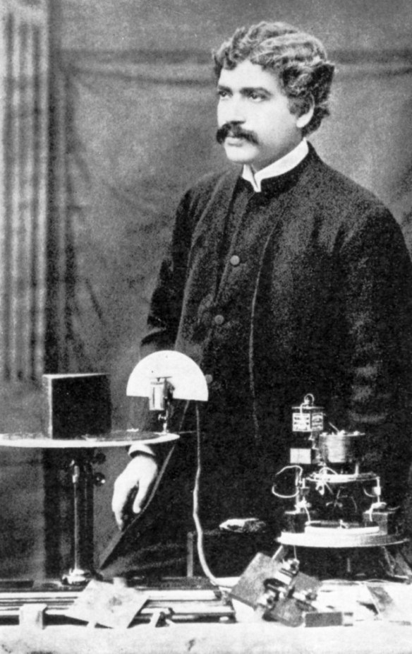 Jagadish Chandra Bose in Royal Institution, London