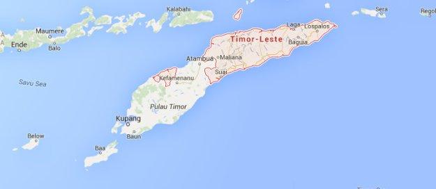 Timore-Leste-Map