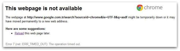 Error-Chrome
