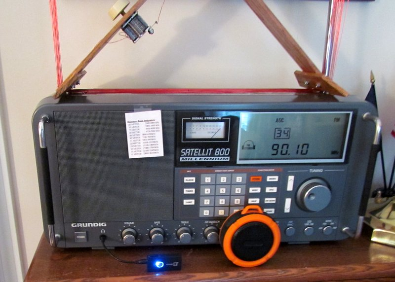 Ron's Bluetooth solution for robust shortwave radio audio | The