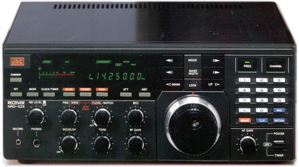 The Japan Radio Company NRD 525 receiver. Photo: Universal Radio