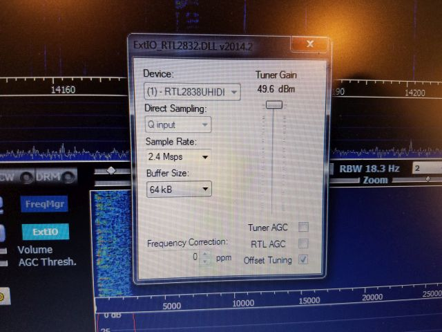 The RTL-SDR V 3 dongle on shortwave: Gary details setup and