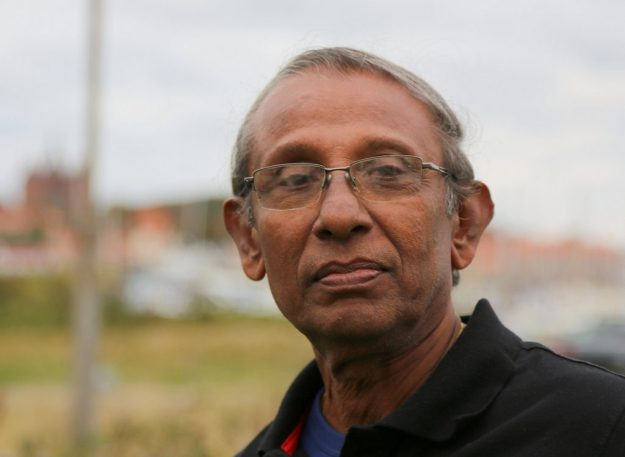 Victor Goonetilleke, early DSCWI member, travelled from Sri Lanka to be part of the historic gathering.