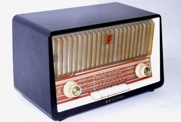 1958 Philips, model B3X85U valve receiver
