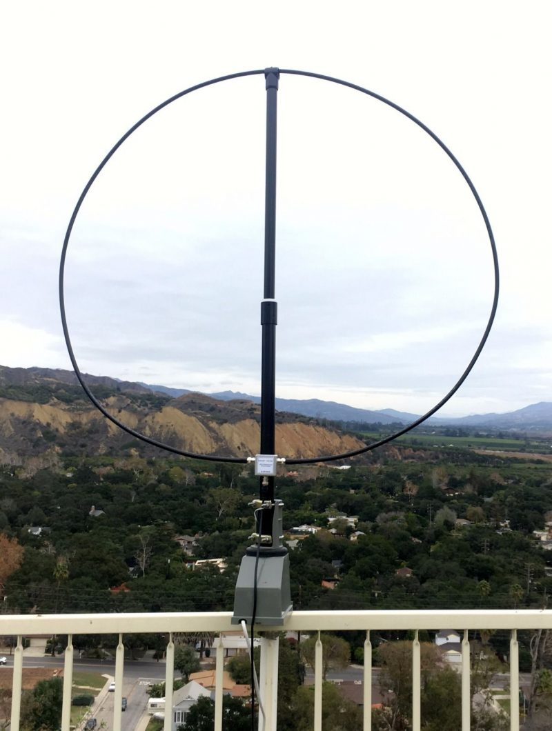 The W6LVP magnetic loop antenna | The SWLing Post