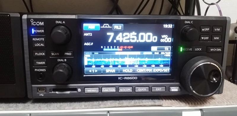 Icom IC-R8600 | The SWLing Post