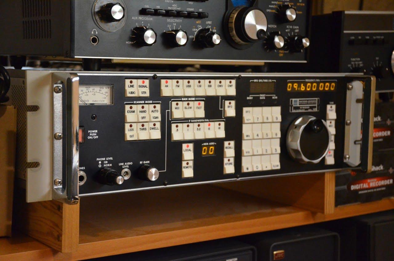3-Watkins Johnson Tuning Knobs used on WJ 8711//HF1000