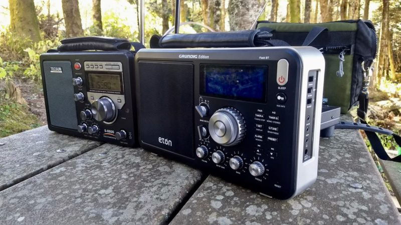 Troy compares the Tecsun S-8800 with the Grundig Edition