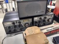 Greenwood had quite a few Drake transmitters and receiver combos for sale.
