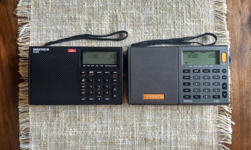Comparing the XHDATA D-808, Digitech AR-1780 and Tecun PL
