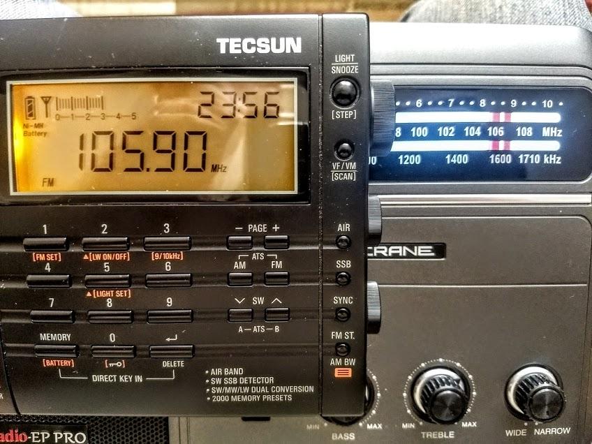 DEGEN DE321 Receiver Radio elegant FM Stereo FM1-2//MW//SW1-8 DSP World Band+Track