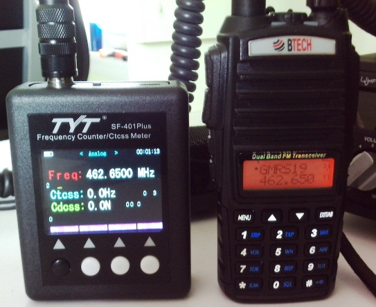 Guest Post: Review of the TYT SF-401 Plus Frequency Counter