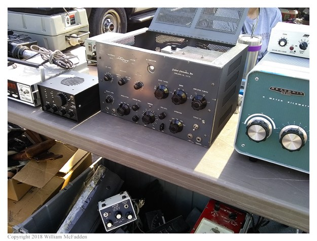 "Central Electronics ""Multiphase Exciter Model 20-A"" transmitter"