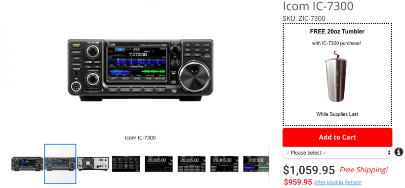 IC-7300 | The SWLing Post