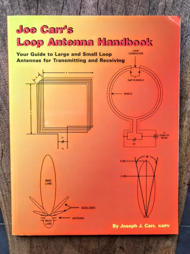 Giveaway alert: Joe Carr's Loop Antenna Handbook | The