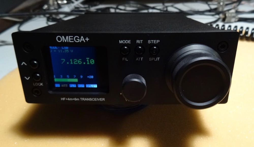 The Omega + HF QRP Transceiver | The SWLing Post