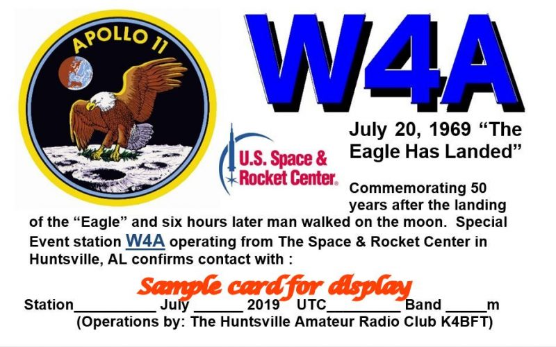 Apollo 11 ham radio special event stations | The SWLing Post