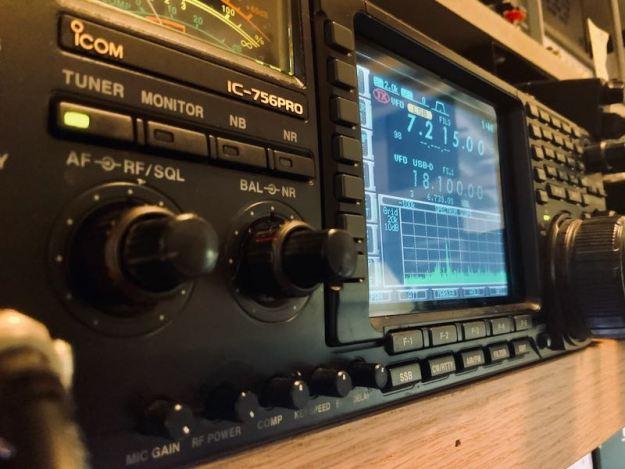 Icom IC-756 Pro Transceiver Dial
