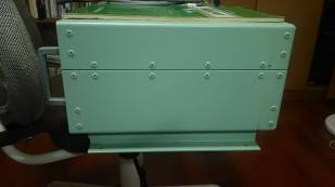 Right side cabinet view