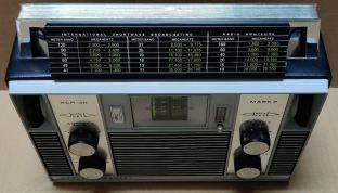 Barlow Wadley XCR-30 Frequency Meter Display