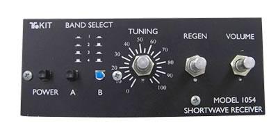 Ten Tec Model 1054 Regenerative 4 Band Swl Receiver