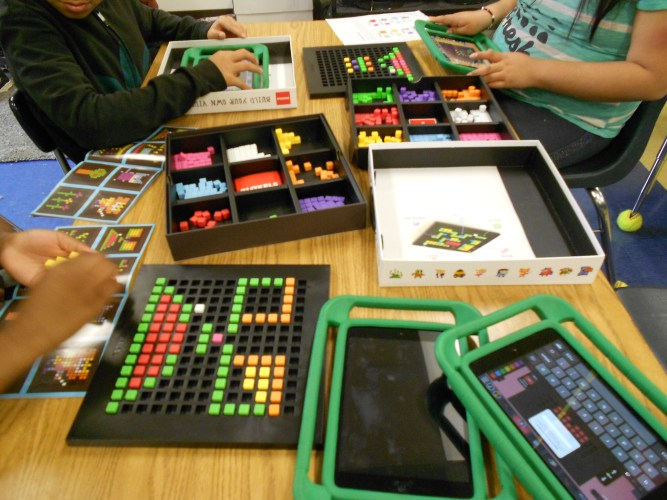 Bloxels Builders with Redwood Elementary