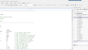 Visual INSTRUCTIONS FOR COMPILING SWMM5 EXE USING MICROSOFT VISUAL