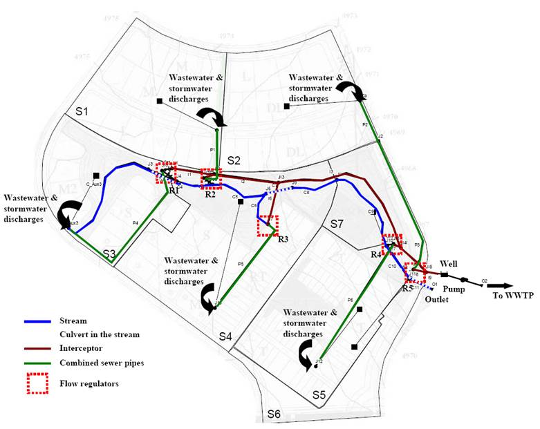 Example 8 Combined Sewer Systems In Infoswmm And Infoswmm Sa