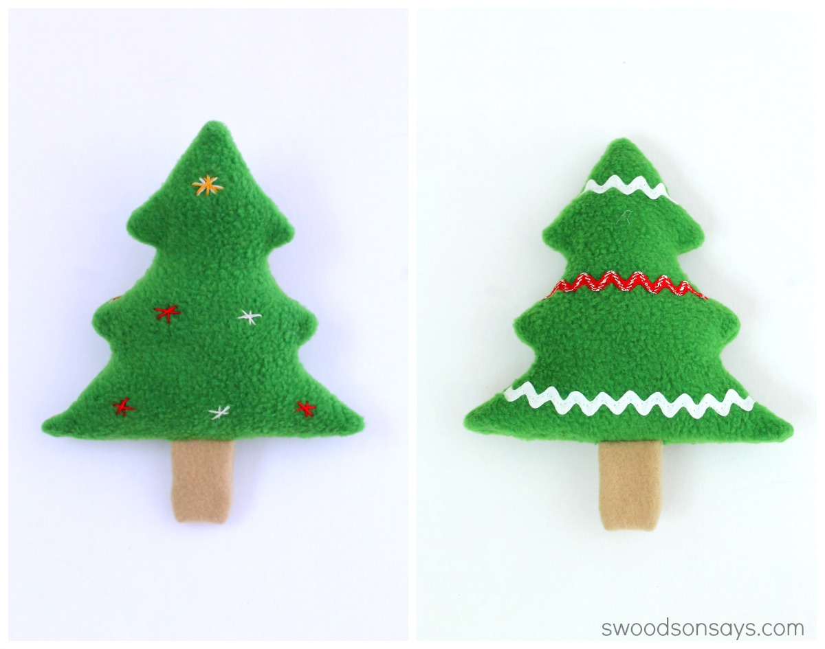 Free Christmas Tree Softie