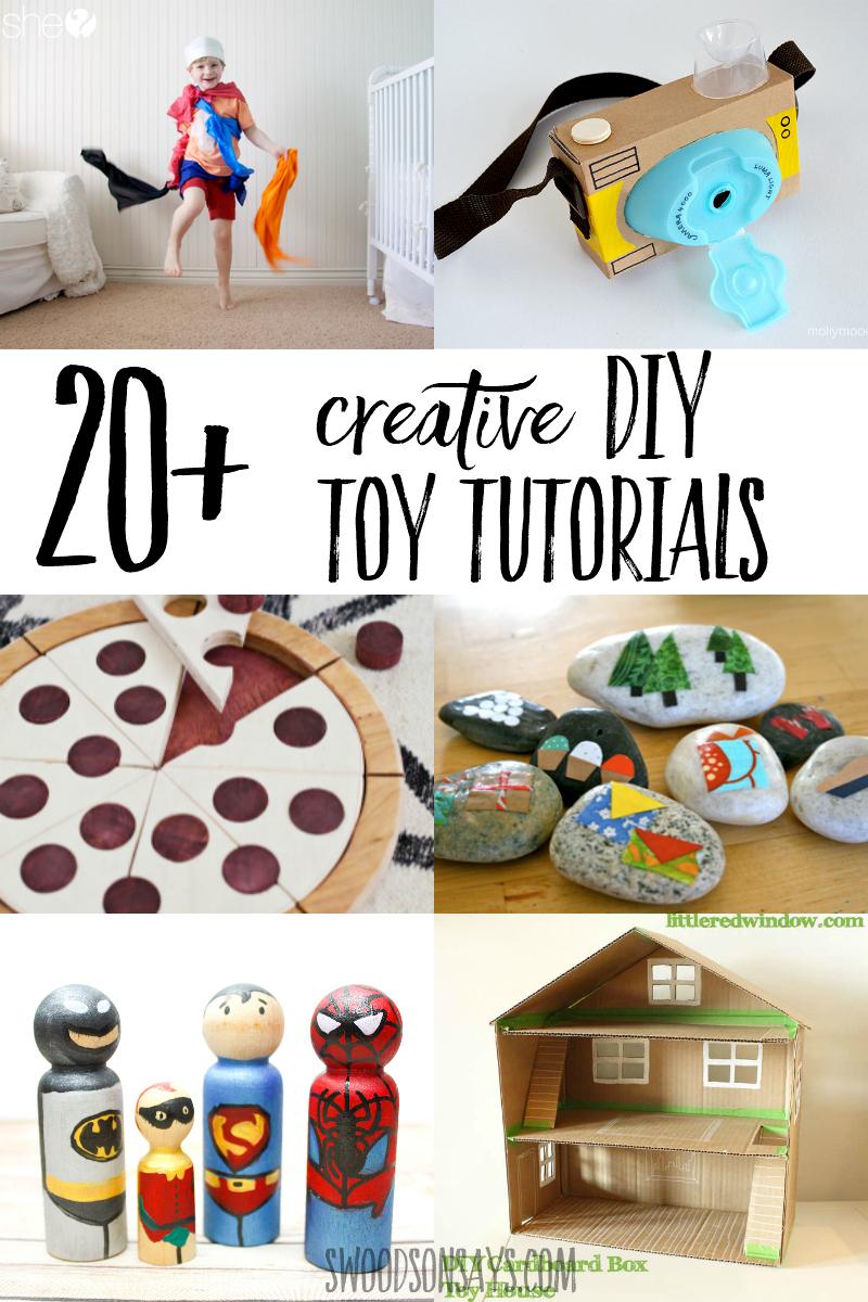 diy toy tutorials for kids