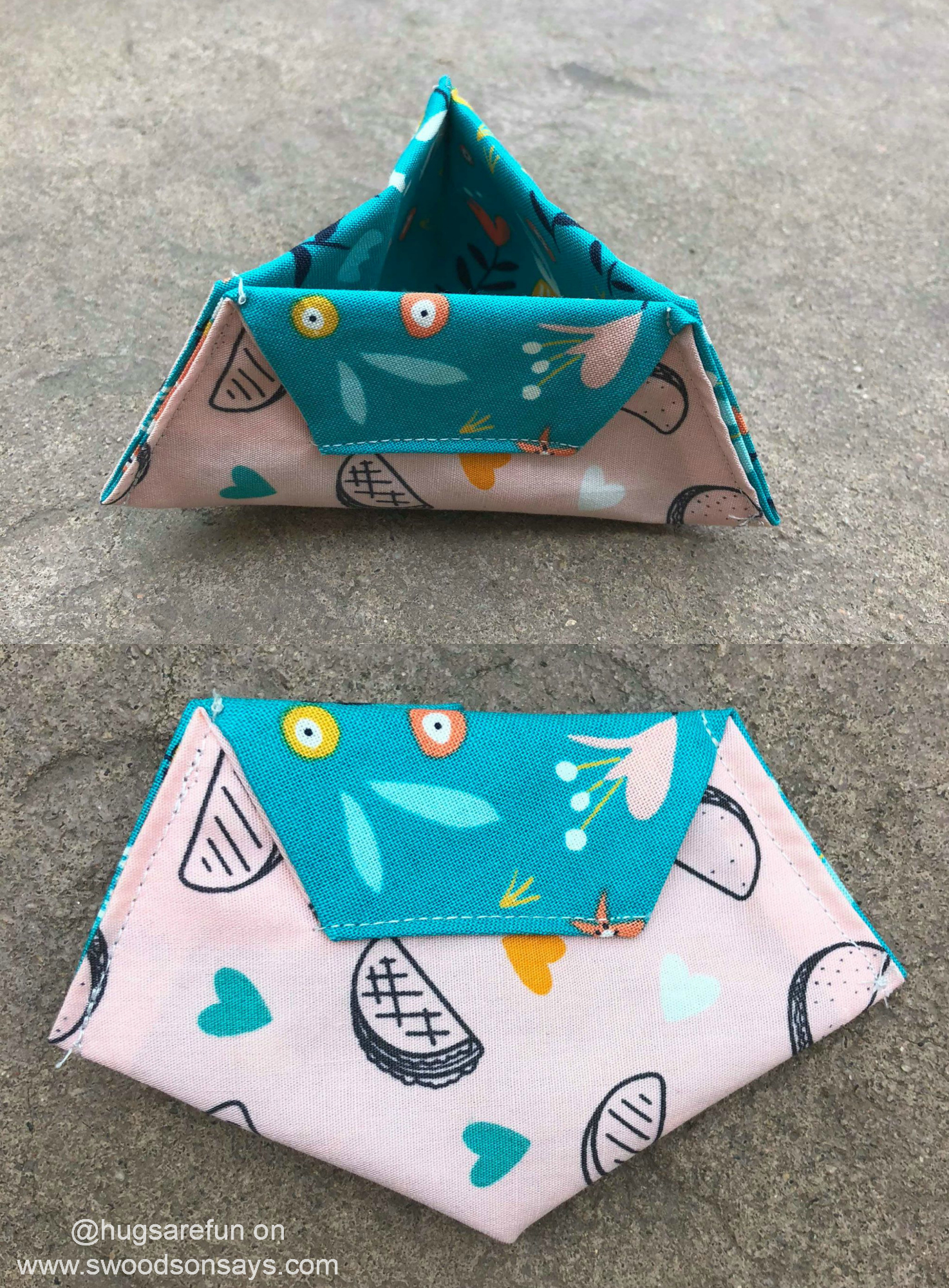 fold up thread catcher sewing tutorial