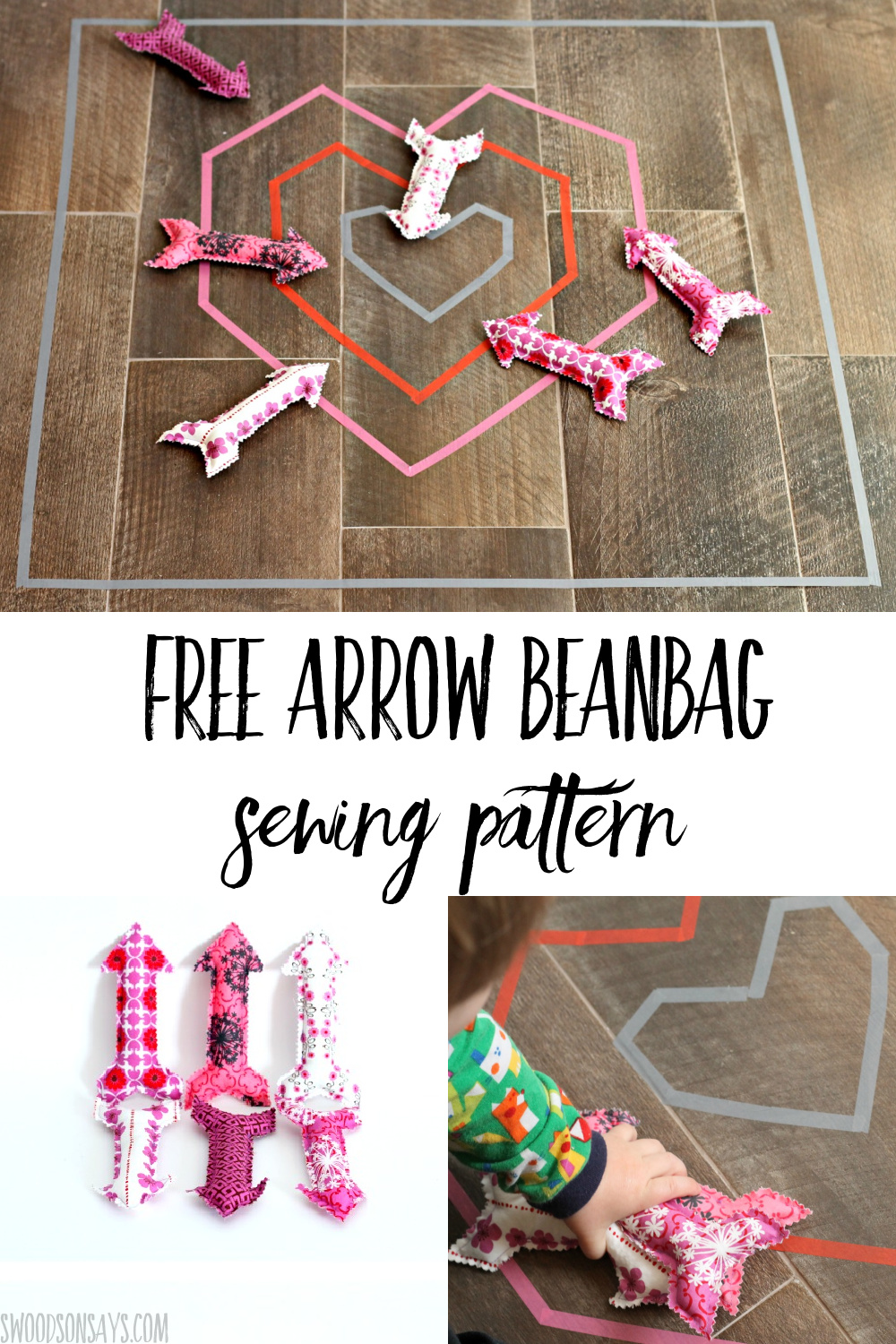 free valentines day sewing pattern