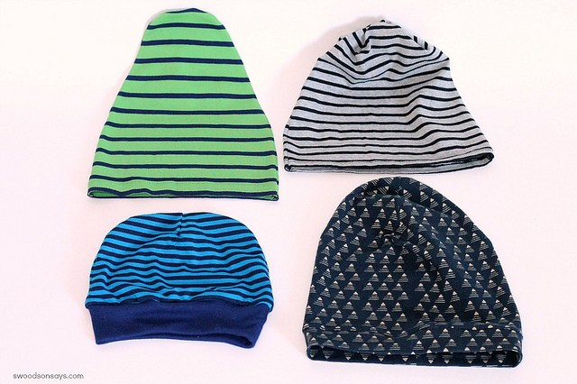 4 Free Knit Beanie Hat Sewing Patterns - Tested! - Swoodson Says 036d8df3148