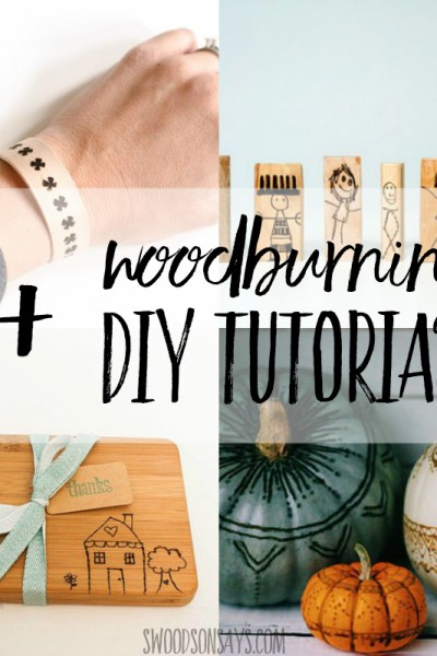 Craft wood burner projects