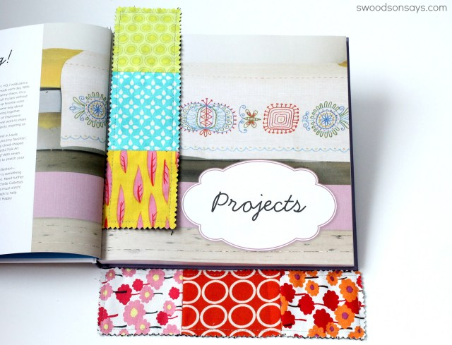 fabric scrap tutorial idea