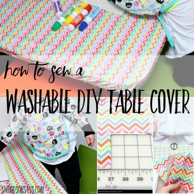 washable diy table cover