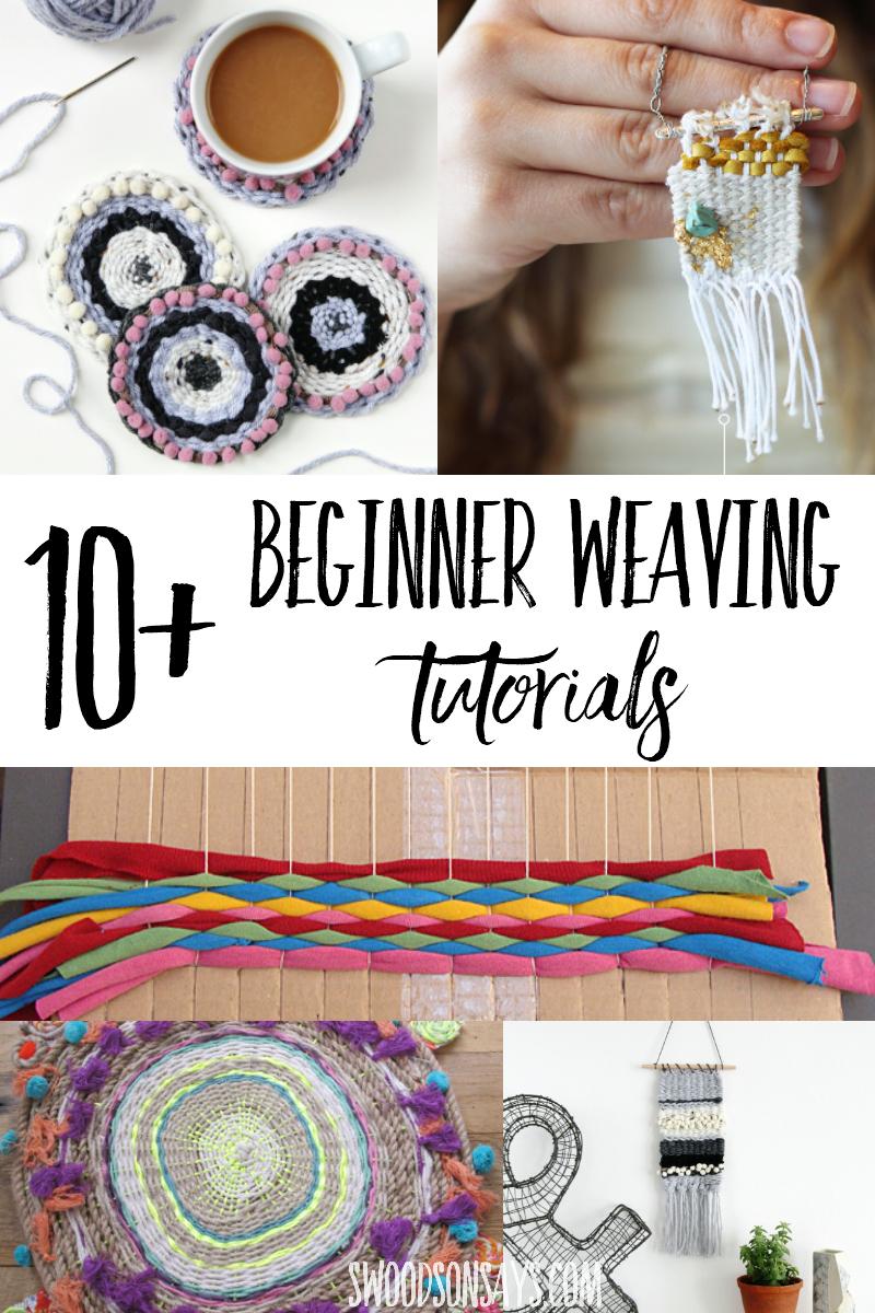 beginner weaving tutorials
