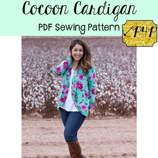 patterns for pirates cocoon cardigan