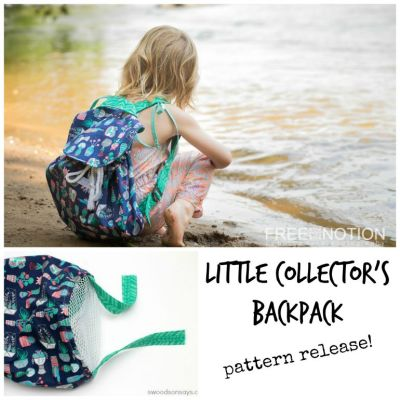Little Collector Backpack Pattern Release