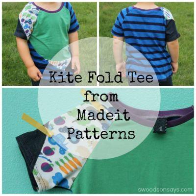 kite fold tee from madeit patterns